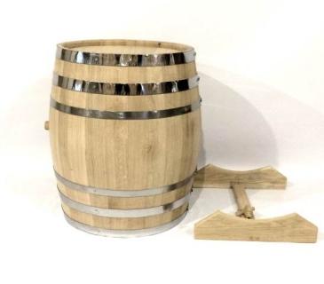 Oak wine barrel cask 100 liters