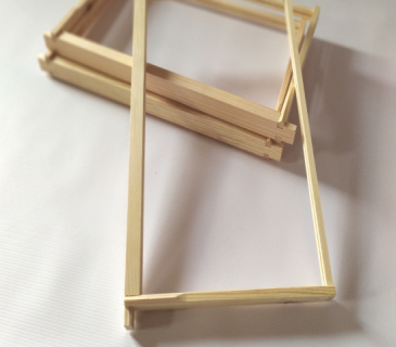 Commercial brood  frames for commercial hives