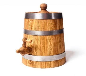 Oak vinegar barrels 3-10 Liters