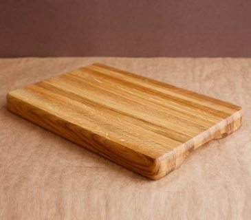Thick oak chopping boards