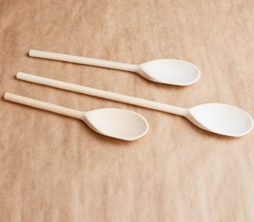 Wooden cooking spoons set of 10 pcs