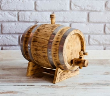 Whisky barrels with burnt finish 1 litre -10 litres