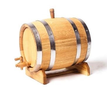 Oak barrel cask 10 Litres