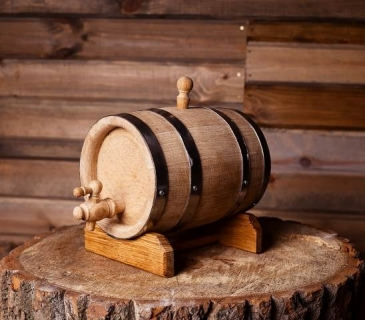 Oak barrel cask 3 Litres
