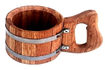 Oak Wooden Mug 0,5 L