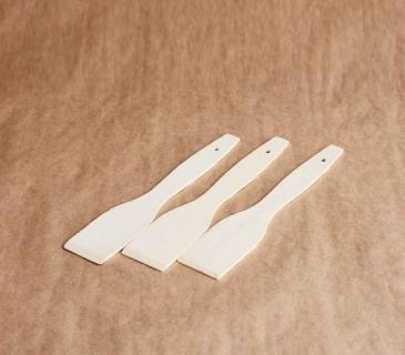 Thin beech kitchen spatula set of 10 pcs